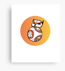 BB-OWL- STAR WARS BB8 Canvas Print