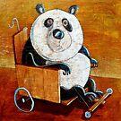 Panda go-cart by Neil Elliott