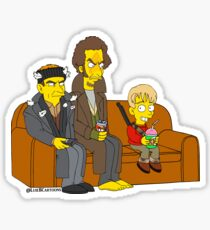 Home Alone Couch Sticker