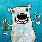 Polar bear by Neil Elliott