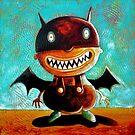 Scary Bat Boy by Neil Elliott