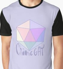 Chaotic Gay Graphic T-Shirt