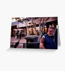 morning in the mall Greeting Card