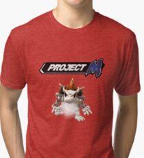 Project M - Dry Bone Bowser Tri-blend T-Shirt