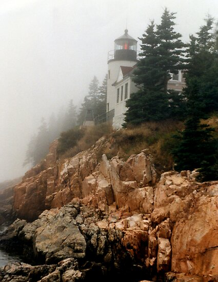 Bass Harbor Lighthouse by Gary L   Suddath