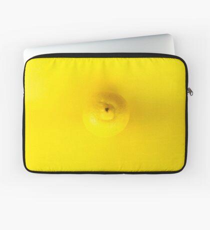 Gelbe Zitrone Laptoptasche