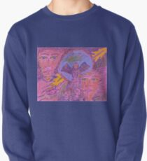 angels wearing wings Pullover
