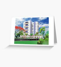 Apartments Greeting Card