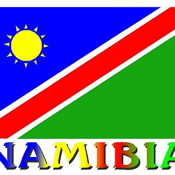 Namibia Flag Design by kurtmarcelle