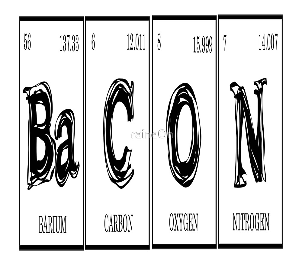 Bacon Elements  by raineOn