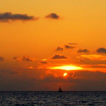 Venice Beach Sunset by matthiasceconi