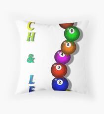 9 Ball Challenge Throw Pillow