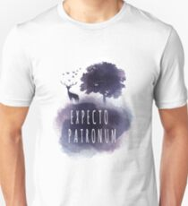 Expecto patromun watercolor stag T-Shirt