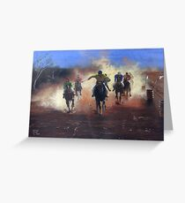Outback Races Greeting Card