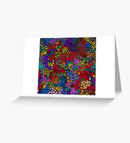 Dense Floral Greeting Card