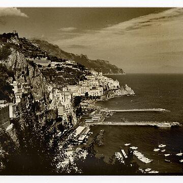 Amalfi Coast, Italy, 1999. by melinda