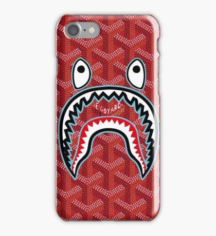 bape goyard red iPhone Case/Skin