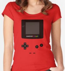Game Boy Colour Tee Women's Fitted Scoop T-Shirt