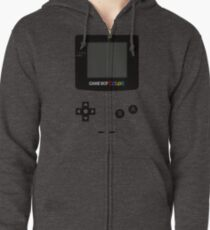 Game Boy Colour Tee Zipped Hoodie