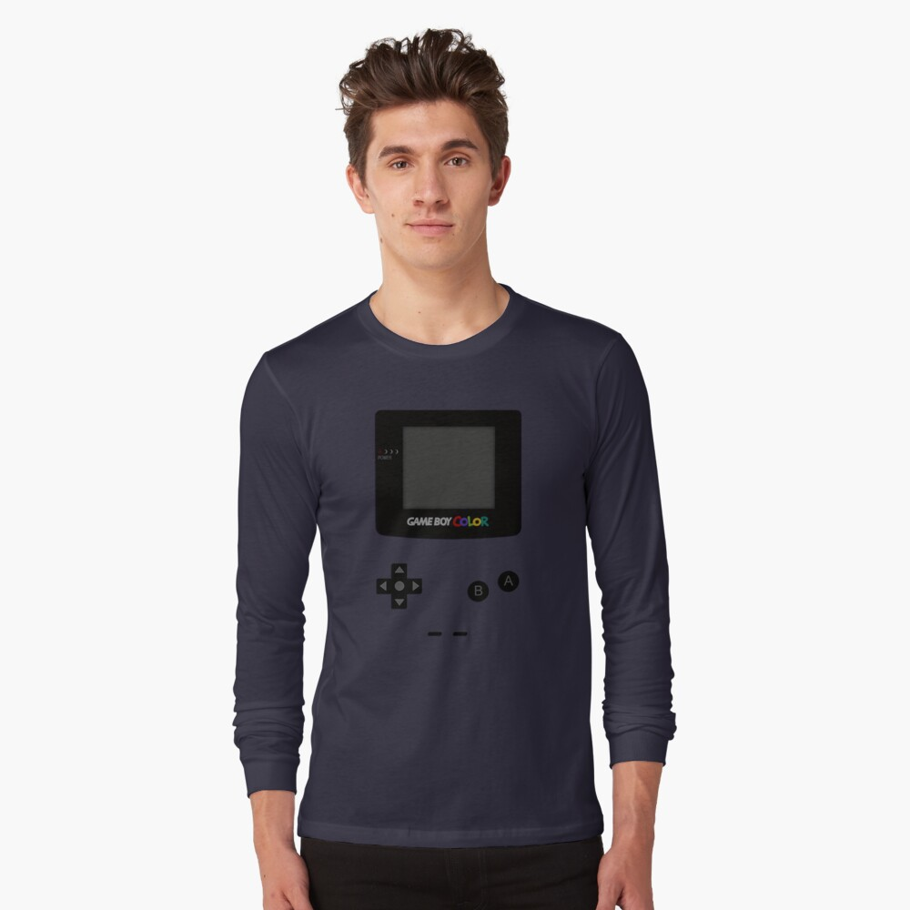 Game Boy Colour Tee Long Sleeve T-Shirt Front