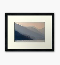 Shades of Ullswater Framed Print