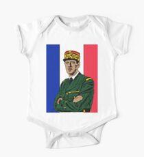 Charles de Gaulle  One Piece - Short Sleeve