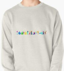 14 Princesses Inspired Silhouette Pullover