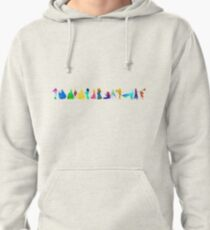 14 Princesses Inspired Silhouette Pullover Hoodie