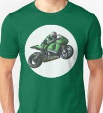 Bike race heroes in action - 'Randy DePuniet' Unisex T-Shirt