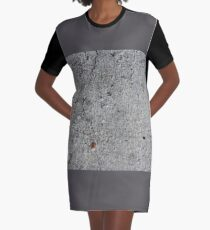 cement Graphic T-Shirt Dress