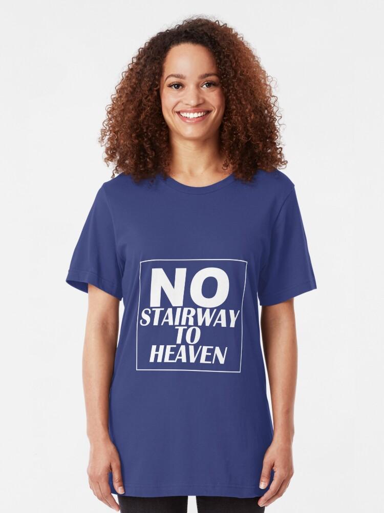 Alternate view of No 'Stairway'! Denied Slim Fit T-Shirt