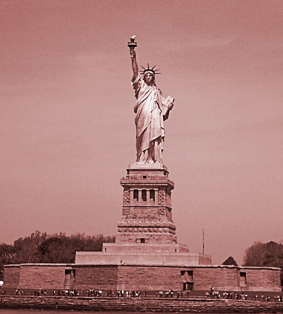 Miss Liberty by Daniel Field