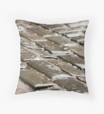 A Scottish Footpath Throw Pillow