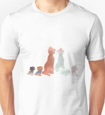 Cats Inspired Silhouette Unisex T-Shirt