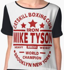 Mike Tyson Boxing Gym Women's Chiffon Top