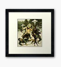 The Poacher. Framed Print