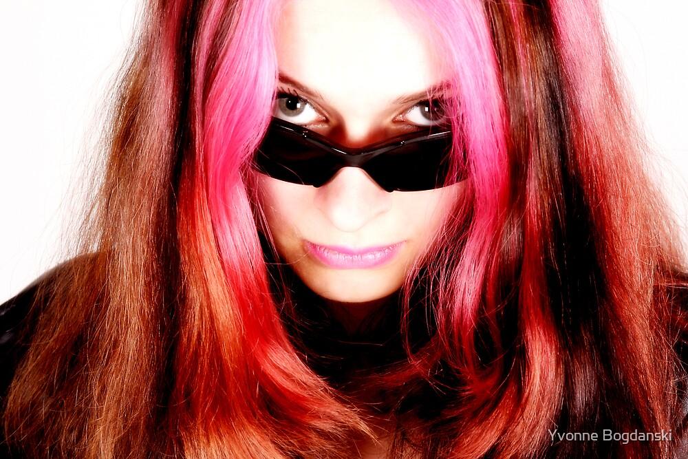 pink lady by Yvonne Bogdanski
