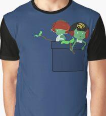 Pocket Kodama  Graphic T-Shirt