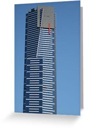The Eureka Tower, Melbourne Australia by Stephen  Shelley