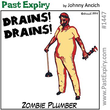 Cartoon : Zombie Plumber by cartoon