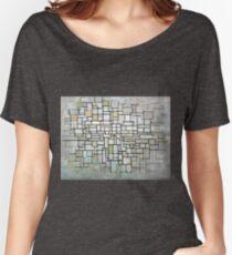 Piet Mondrian Composition No. II Women's Relaxed Fit T-Shirt