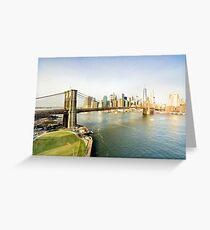 Tarjeta de felicitación New York City