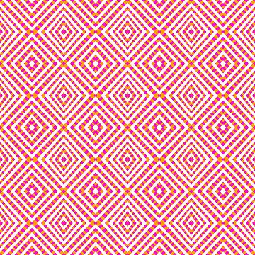 Interference Grid Pink - Optical Series 017 by outerground