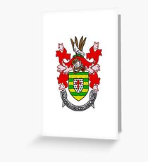 Donegal County Coat of Arms Greeting Card