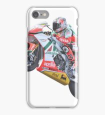 Bike race heroes in action - 'Max Biaggi' iPhone Case/Skin