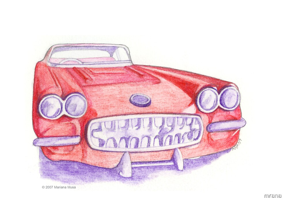 Toy Red Car by Mariana Musa