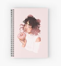 Donut Girl Spiral Notebook