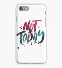 BTS WINGS YNWA - Not Today (White) iPhone Case/Skin