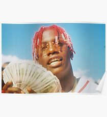LIL YACHTY REAL YUNG N*GGA FROM THE 6 THROWIN BOWS Poster