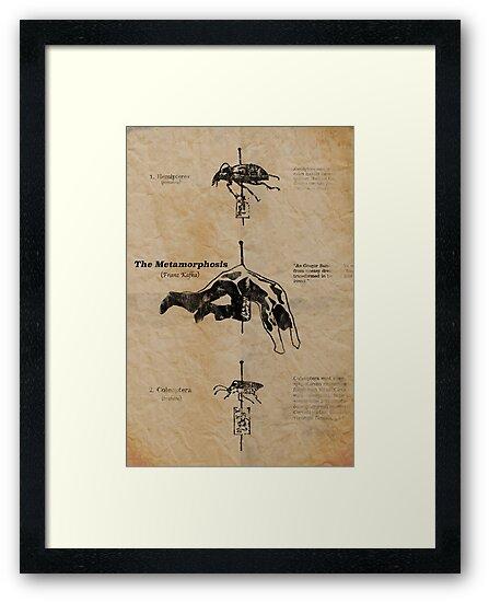 The Metamorphosis By Franz Kafka Framed Prints By Votech Redbubble